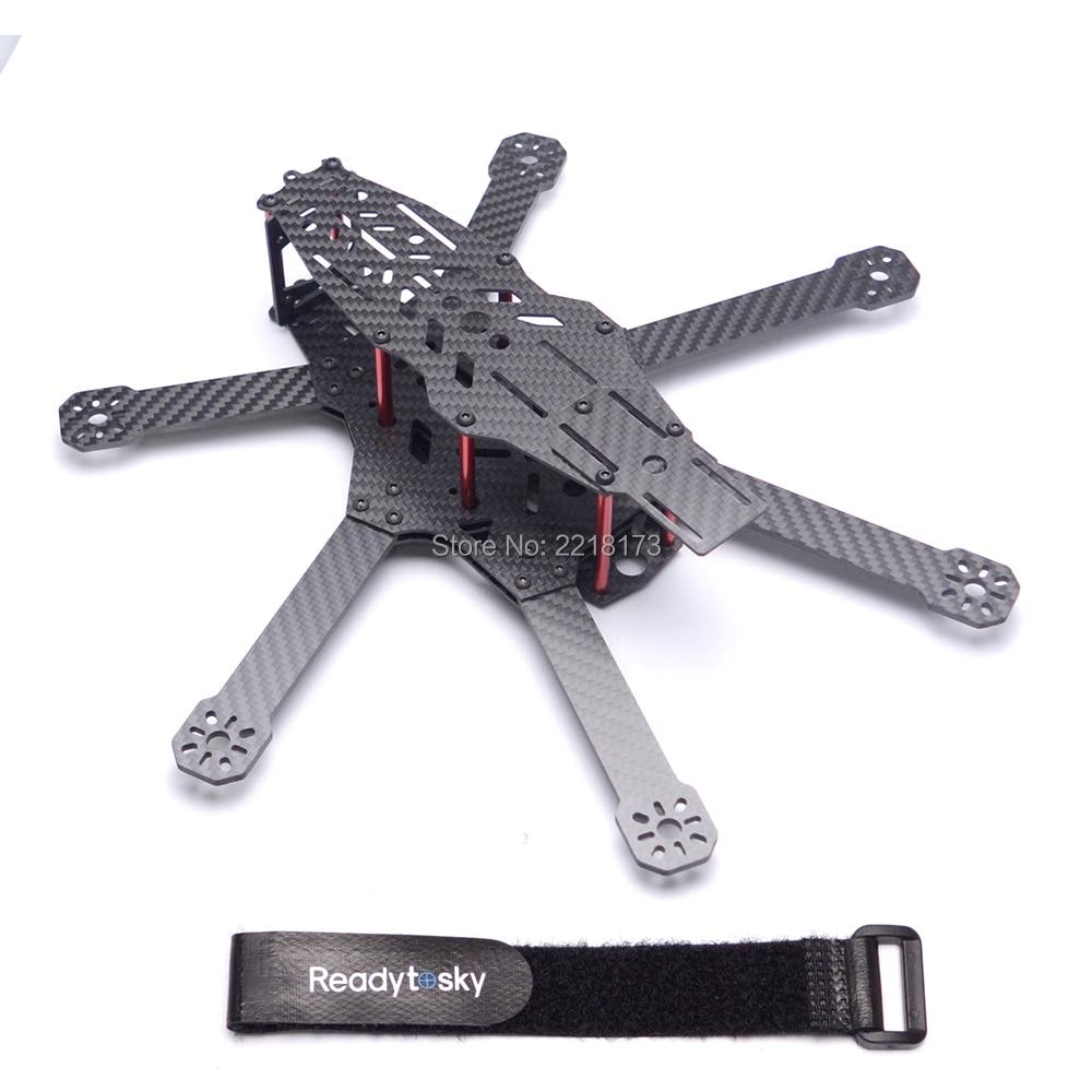 RD 290 290mm RD290 Carbon Fiber Hexacopter Frame 6 Axis 3K Carbon Fiber For FPV UAV цена