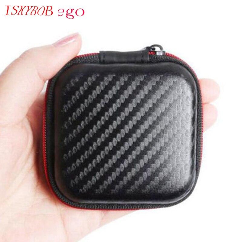 High End Earphone Accessories Earphone Case Bag Headphones Portable Storager New часы high end world