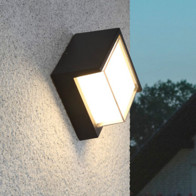 led porch lights outdoor sconces wall outdoor lights waterproof outdoor wall light for villa led lumiere : outdoor light wall - www.canuckmediamonitor.org