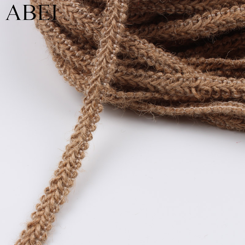 3M Rustic Natural Jute Wedding Belt Straps Floristry Hessian Burlap Ribbon DSUK