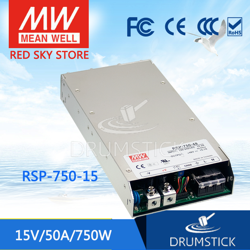 Advantages MEAN WELL RSP-750-15 15V 50A meanwell RSP-750 750W Single Output Power Supply selling hot mean well rsp 1500 5 5v 240a meanwell rsp 1500 5v 1200w single output power supply