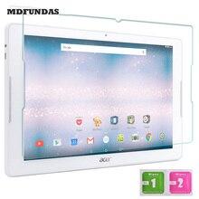 "Para acer iconia one 10 b3-a30-k359 b3-a30-k6zh templado película de vidrio 10.1 ""Tablet PC de Cristal Borde 2.5D 9 H Protector de Pantalla Completa"