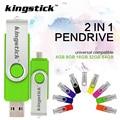 2 в 1 OTG USB Flash Drive 16 ГБ 32 ГБ U диск Памяти USB Stick 4 ГБ 64 ГБ Переносное Устройство Для Хранения Флешки Горячей продажа