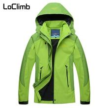 LoClimb Female Outdoor Sport Windbreaker 2018 Sping Waterproof Camping Hiking Jacket Women Climbing Trekking Cycling Coat,AW119