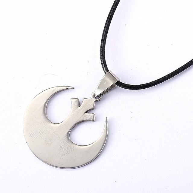 Star Wars Jedi Logo Pendant Necklace