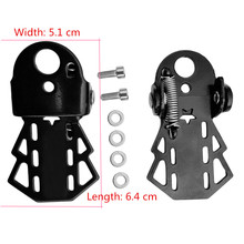 One Pair Stainless Steel Mountain Bike Rear Foot Pedal Thicken Bicycle Rear Folding Pedals for Bike Child Seat Bike Accessories
