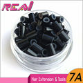 5 bottles-5000pieces 4.5mm*3mm*6mm Micro Rings/Links/Tubes, Copper Silicone For I Tip Hair Extensions