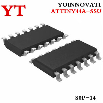 100 PCS ATTINY44A-SSU ATTINY44A ATTINY44  SOP14 IC MCU 8BIT 4KB FLASH 14SOIC  Best quality