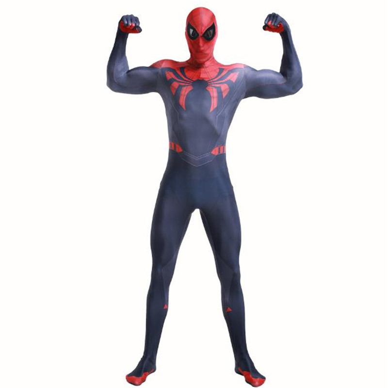 The Avengers Spider-Man Superior Cosplay Costume jumpsuits Tights Christmas Halloween Set High Quality