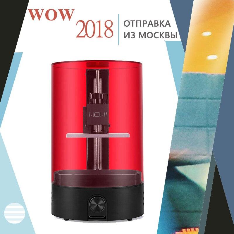 WOW DLP! LCD 3d imprimante/sparkmaker lumière durcissement UV Résine SLA! Express gratuite de Moscou Russe entrepôt