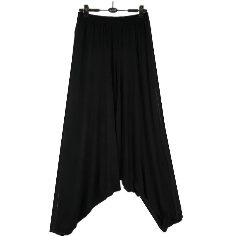 новые модные мужские промежности штаны мужские хлопчатобумажные брюки шаровары, шаровары штаны, повседневные штаны, плюс размер штаны м-5xl