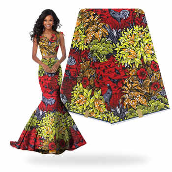 2018 ใหม่ออกแบบโรงงาน Veritable ภาษาดัชคำพิมพ์จริงแอฟริกันผ้า Wax H180116