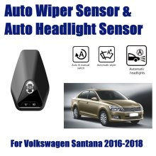 For Volkswagen VW Santana 2018~2019 Smart Auto Driving Assistant System Car Automatic Rain Wiper Sensors & Headlight R&D Sensor