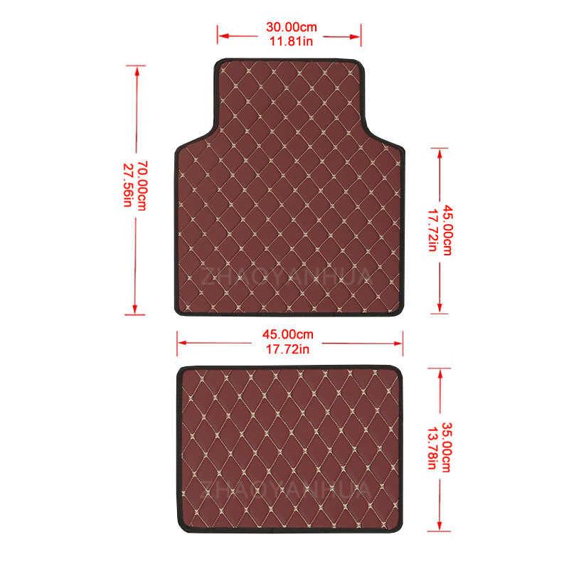 Araba paspaslar evrensel MINI Cooper için R50 R52 R53 R56 R57 R58 F55 F56 F57 Countryman araba deri su geçirmez paspaslar halı
