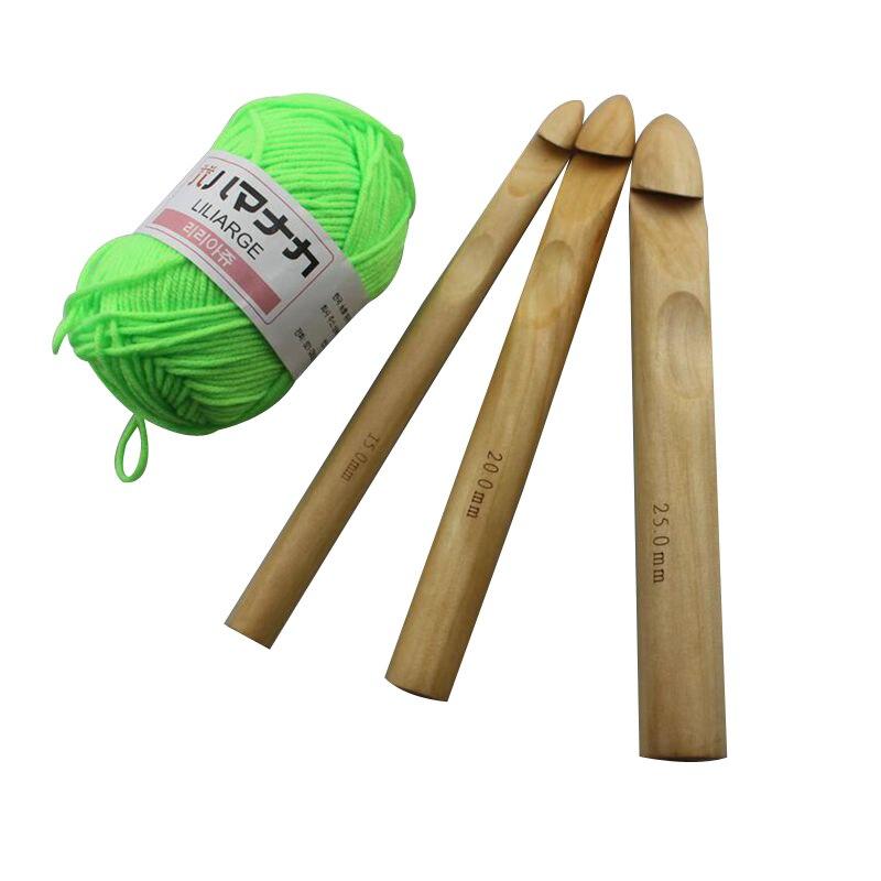 Knitting Joining Yarn On Circular Needles : Cm length mm wood crochet hooks bamboo circular