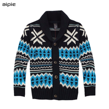 Aipie חדש מותג אופנה ילדי בני סוודרים עבור 2 5 שנים ילד בני סוודרים בגדים