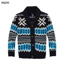 Aipie новые брендовые модные детские свитера для мальчиков, детские свитера для мальчиков и девочек, одежда для детей, Свитера для мальчиков