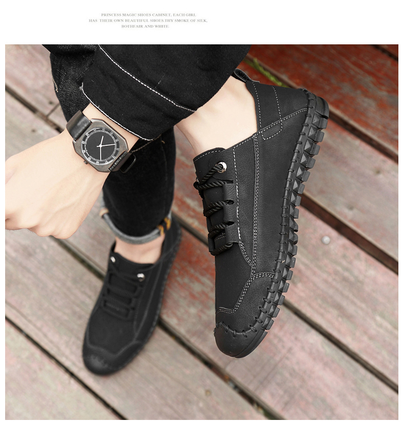 HTB1uDJdasTxK1Rjy0Fgq6yovpXau - 2019 New Fashion Leather Spring Casual Shoes Men's Shoes Handmade Vintage Loafers Men Flats Hot Sale Moccasins Sneakers Big Size