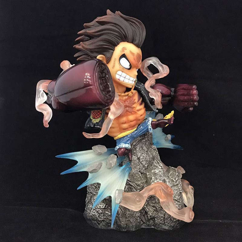 Amiable One Piece Gear Fourth Luffy Action Figure 1/8 Scale Painted Figure Fighting Ver Monkey D Luffy Pvc Figure Toy Brinquedos Anime Toys & Hobbies