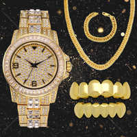 TOPHIPHOP Pink CZ Stone Micro Pave Top Bottom Custom Grillz Set Grills