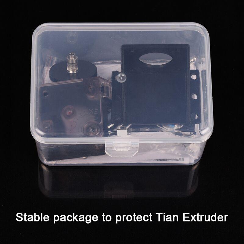 3D piezas de la impresora DIY Titan extrusora totalmente Kits con Nema 17 Motor paso a paso para V6 j-cabeza Bowden extrusora 1,75/3,0mm filamento