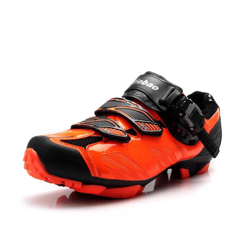 TIEBAO S1407 SPD Cleat Compatible MTB Cycling Shoes Outdoor Men Women MTB Bike Shoes Size 38 to 47 Mountain Bicycle Shoes tiebao tb02 b943 men s outdoor sports cycling shoes black white pair size 42