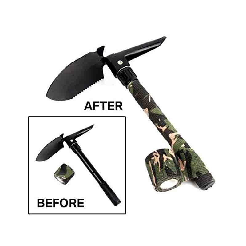 ALI shop ...  ... 32860287004 ... 4 ... Camouflage Tapes Tactical Flashlight Knife Bandage 5CM * 450CM Self-adhesive Non-woven Natural Latex Camo Stretch Bandage ...