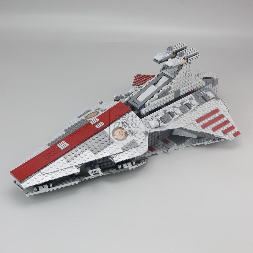 Lepin 05042 Star Series The Republic Fighting Cruiser Set Building Blocks Bricks Educational DIY puzzele for kids Gift 8039 toys