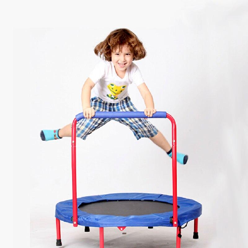 Handheld 36x36 Inch Kids Round Trampoline Children Funny