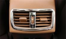 Per Lexus ES 200 250 350 300 h In Acciaio Inox Styling Posteriore Presa Aria Condizionata Cornice Decorativa Trim Auto 3D Sticker