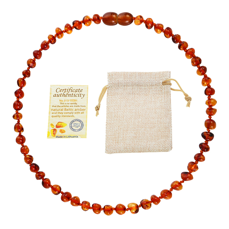 Classic 10 Colors Original Amber Teething Necklace for Baby Lab Tested Authentic Natural Amber Stone Necklaces Classic 10 Colors Original Amber Teething Necklace for Baby Lab Tested Authentic Natural Amber Stone Necklaces for Baby Jewelry