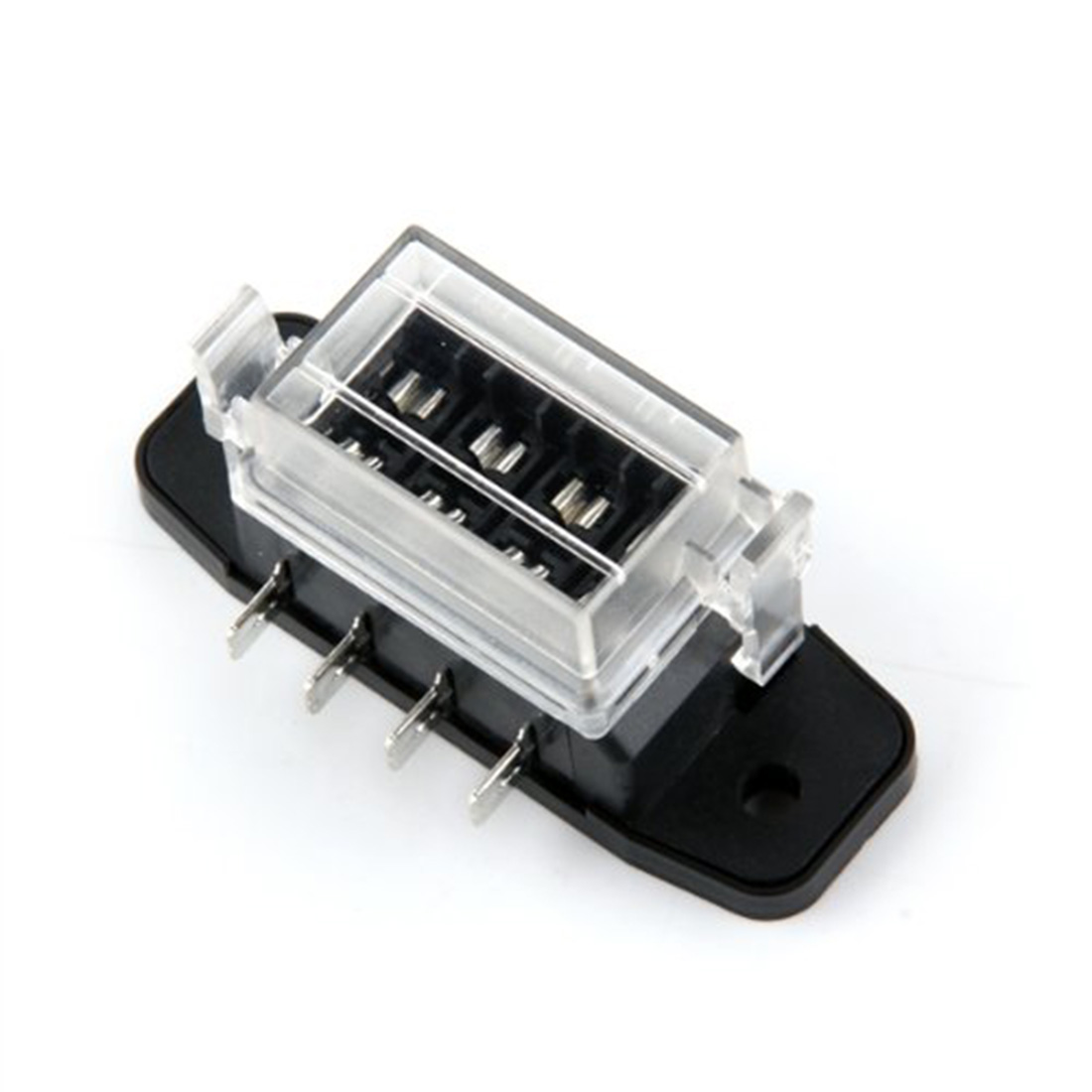 dewtreetali new 4 way circuit car automotive atc ato blade fuse box block holder fuseholder 32v [ 1100 x 1100 Pixel ]