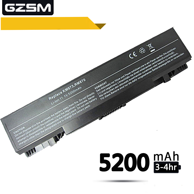 Bateria do portátil para DELL 1735 1736 1737 KM973 GZSM KM974 KM976 KM978 MT335 MT342 Baterias PW823 PW824 PW835 RM791 RM868 bateria