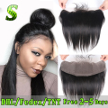 Brazilian Lace Frontal Closure 13x4 Straight Ear To Ear Lace Frontals With Baby Hair Virgin Human Hair Full Frontal Lace Closure