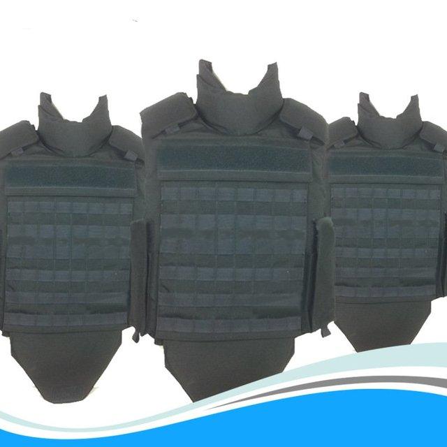 Black Side Flap NIJ III IV Bulletproof Vest