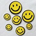 80 PCS (3 bags)/LOTE, 3 tamanho da cara do sorriso adesivos de espuma, As Crianças do brinquedo. Scrapbooking kit. Early educacional artesanato. jardim de infância ofício. barato