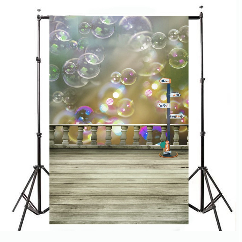 5x7ft Bubble Printing Vinyl Photography Background For Studio Photo Props Photographic Backdrops cloth 210 x 150cm 5x7f wedding party outdoor photography backdrops photo studio props villa vinyl photography background cloth 210cm x 150cm