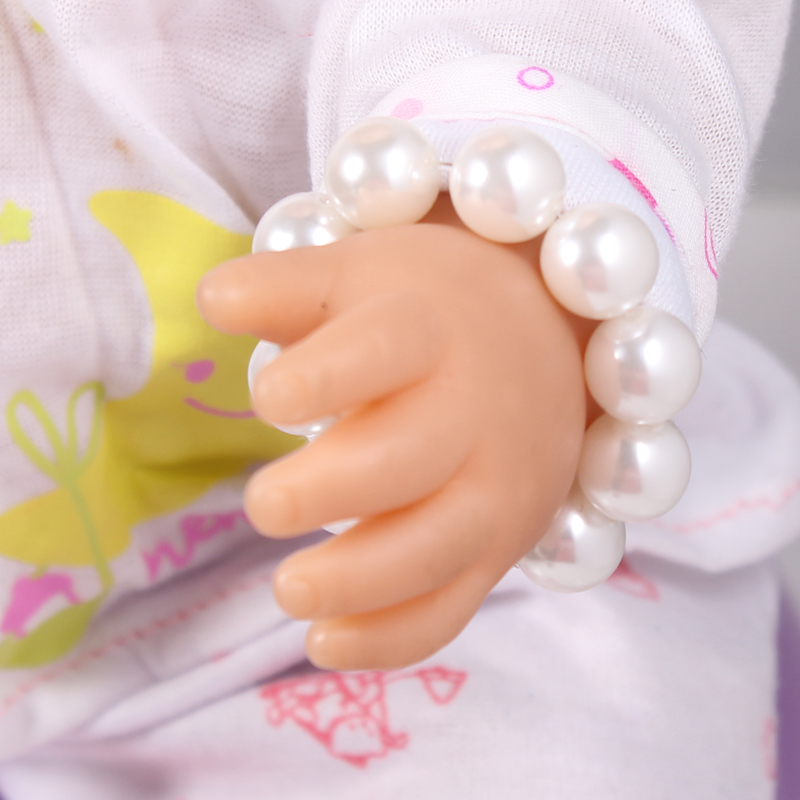 1pcs Doll Accessories Pearl Bracelet Fit For Americal Girls 43cm Doll Baby Born Zapf A8