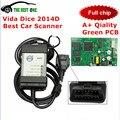 Лучшее Обслуживание Для ПЛАШЕК Volvo vida Полный Чип 2014D Поддержка Fimware Update & Self-Test Vida Dice Pro Для Volvo Диагностический Инструмент