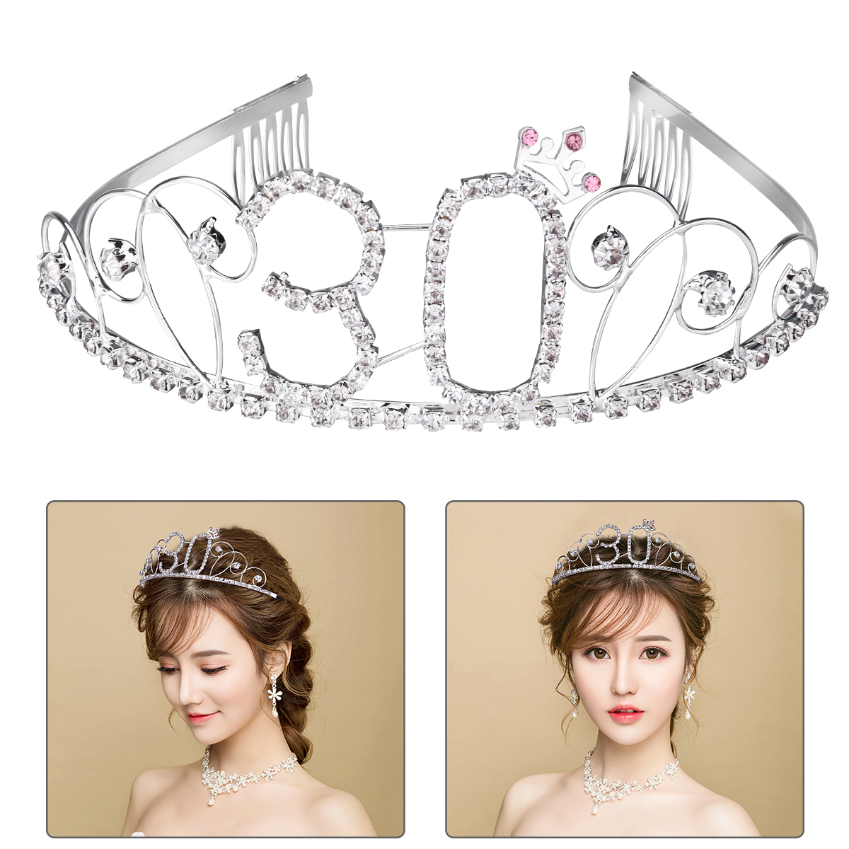 New Fashion Bridal Hair Accessory Ladies Ear Decoration Wedding Hair Jewelry With Tassel New Arrival Attractive And Durable Back To Search Resultsjewelry & Accessories Jewelry Sets & More