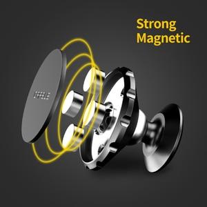 Image 4 - CAFELE soporte magnético de teléfono de coche para teléfono móvil, soporte Universal para teléfono móvil, imán de teléfono móvil, aleación de aluminio