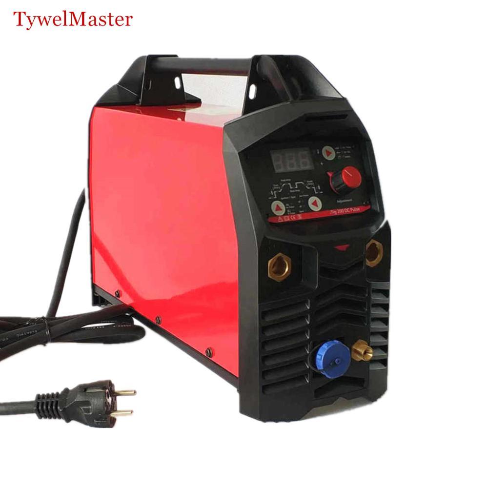 Digital Pulse TIG Machine 200A Hot Start HF Ignition Anti Stick Arc Force CE Welding Equipment