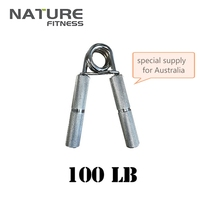 NEW 100 250lbs Aluminium Heavy Grip Muscle Strength Training Weight Lifting Device Hand Gripper Gym Equipment