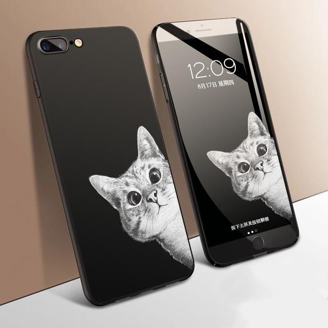 cat iphone 7 phone cases