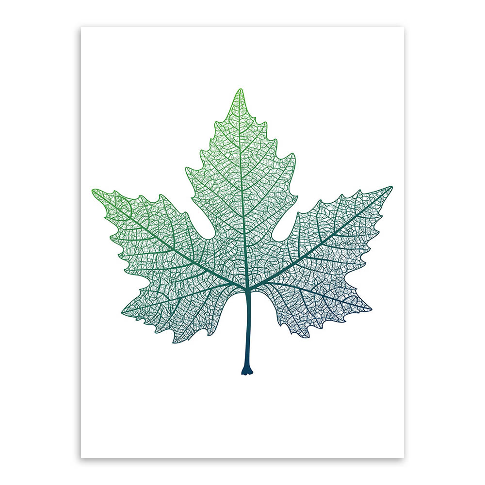 aliexpress com buy modern nordic green plant leaf canvas art
