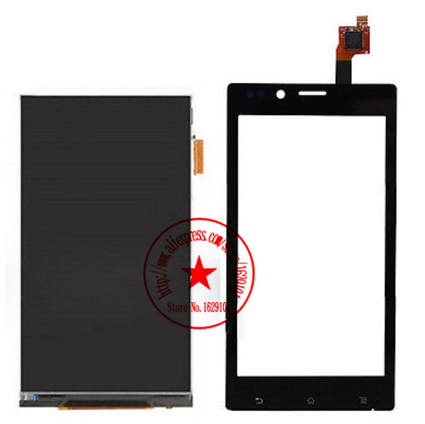 Best Quality Black ST26 LCD Display+Touch Screen Digitizer For Sony Xperia J ST26a ST26i ST26 Mobile Phone Repair Parts