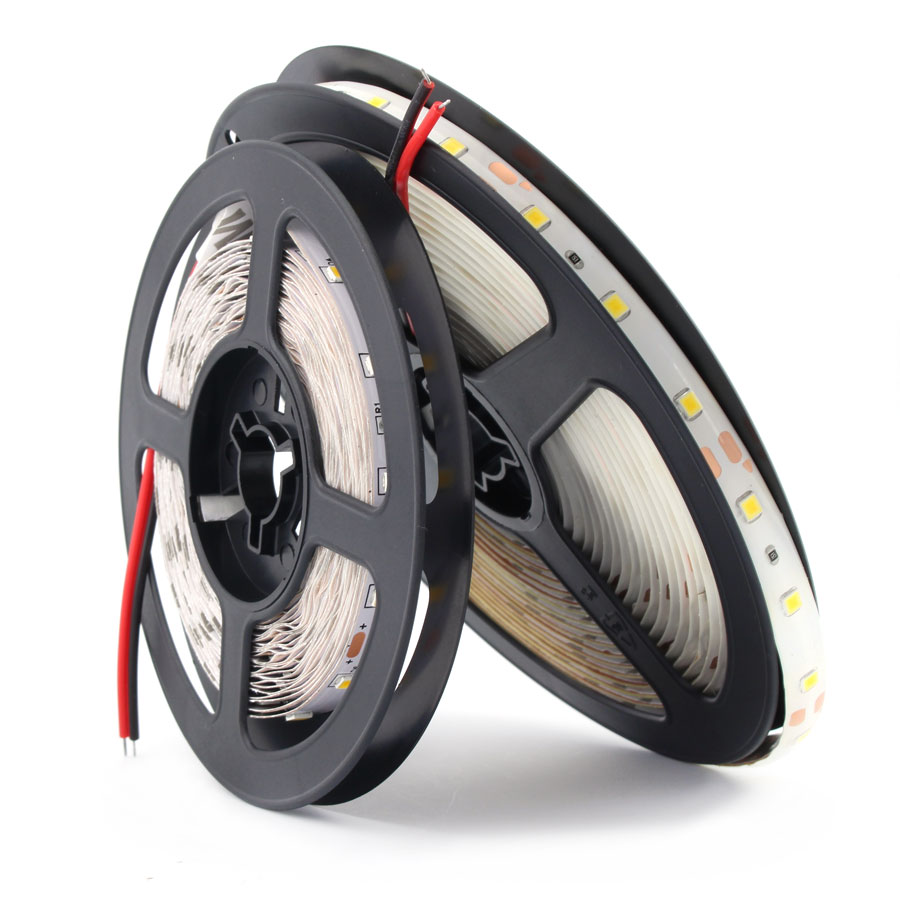 12 V Volt Strip Led Light PC Tape 2835 RGB Waterproof 1 - 5 M 12V DC 60LED/M RGB Led Strip Tape Lamp Diode Flexible TV Backlight