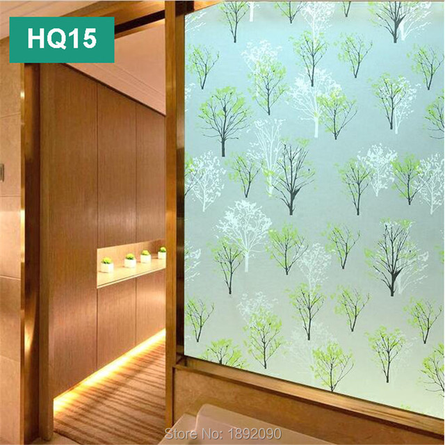 2017 45cm 200cm Frosted Privacy Gl Window Film Tinting Adhesive Embossed Sticker Home Decor