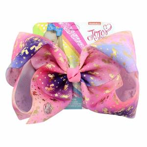 YHXX YLEN 1piece Unicorn Bows With Clip Kids Hair Accessory