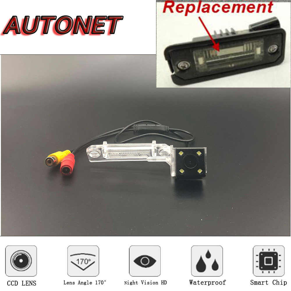 AUTONET HD Night Vision Rear View camera For Seat Leon 1P1 Altea 5P0 Ibiza 6J 6J5 Hatchback/Backup Camera/license plate camera
